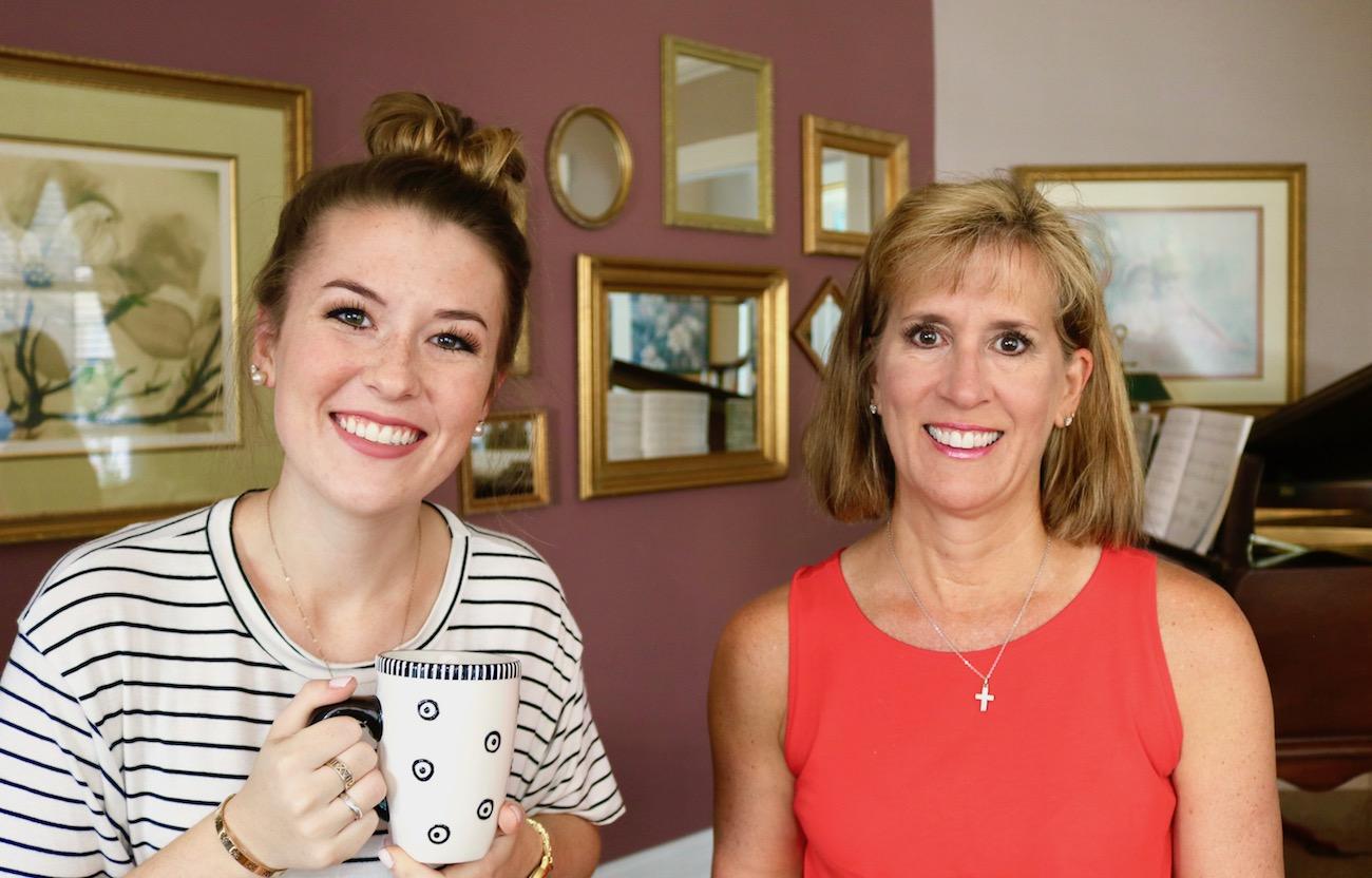 coffee with my mom camino faith journey kristen shane