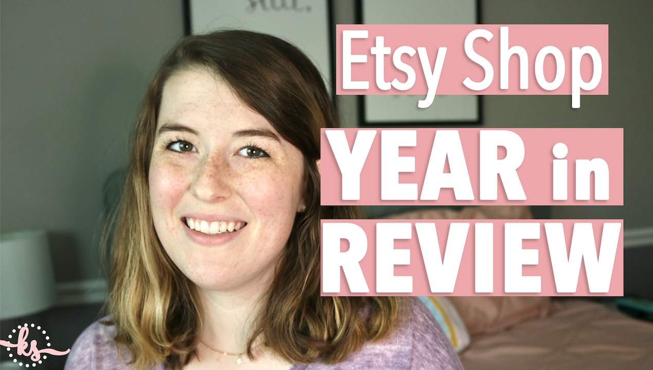 Etsy Shop Year in Review thumbnail